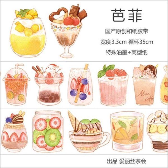 画像1: 【アリス茶会】パフェ(特殊油墨) (1)