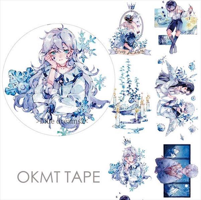 画像1: 【新七天】blue dreams2(特殊油墨) (1)